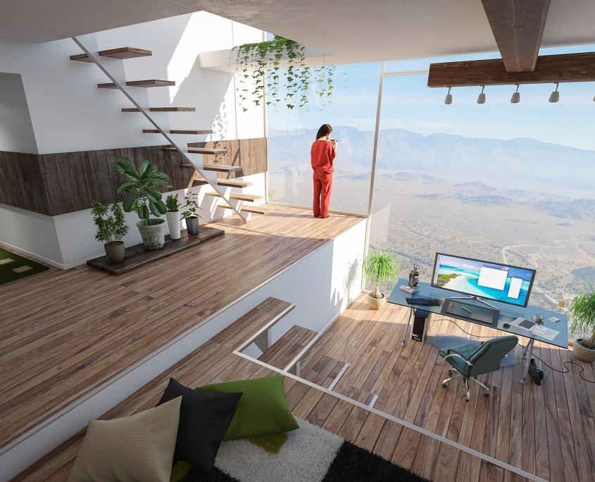Photo villa sompteuse